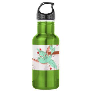 Love bird ~ stainless steel water bottle