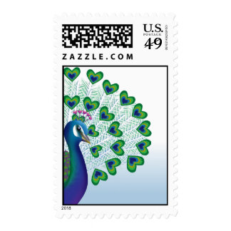 Love bird stamps