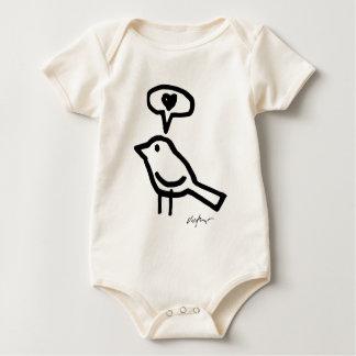 Love Bird - Victore Baby Baby Bodysuit