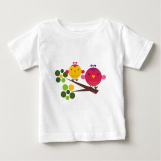 Love Birdies + Oliver the Owl T-shirt