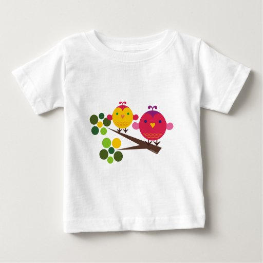 Love Birdies + Oliver the Owl T-shirt