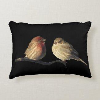 Love Birds Accent Pillow