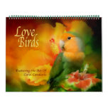 Love Birds Art Calendar