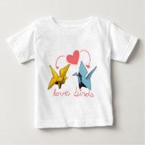 love birds baby T-Shirt