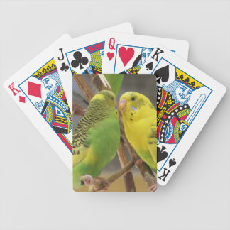 Love Birds Bicycle Playing Cards