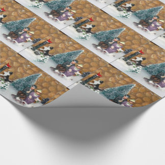 Love Birds Christmas Wrapping Paper (1213)