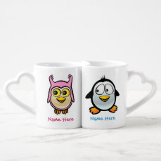 Love Birds Coffee Mug Set