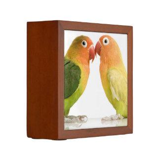Love Birds Desk Organizer