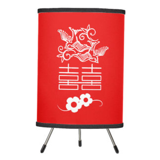 Love Birds - Double Happiness - Chinese Lamp