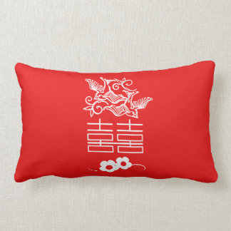 Love Birds - Double Happiness - Chinese Pillow