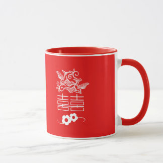 Love Birds - Double Happiness - Feng Shui Gifts Mug