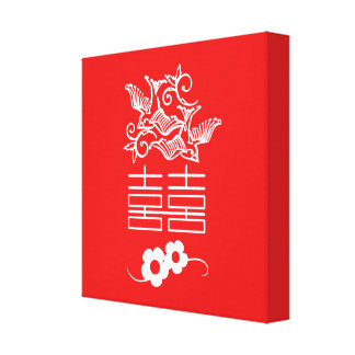 Love Birds - Double Happiness - Feng Shui Wall Art