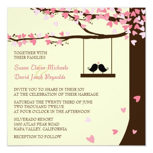Oak Tree Wedding Invitation for nice invitation ideas