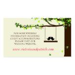 Love Birds Falling Hearts Website Cards 100pk Business Card Templates