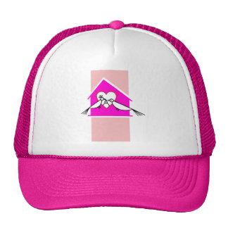 Love Birds family Mesh Hat