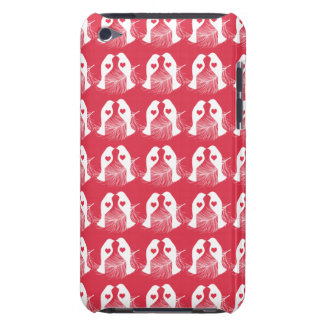 Love Birds Feathers Red Pattern iPod Touch Cover