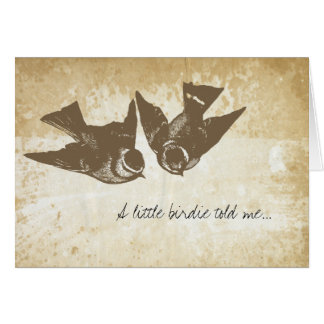Love Birds Greeting Stationery Note Card