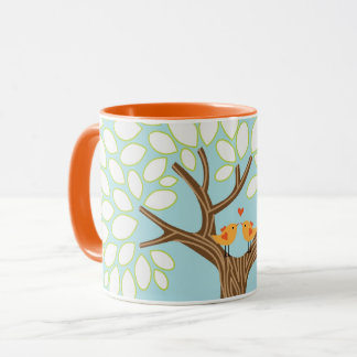 Love Birds in a Tree (Day) Mug