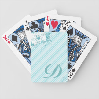 Love Birds Initial Playing Cards