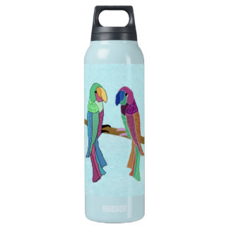 Love Birds Insulated Water Bottle