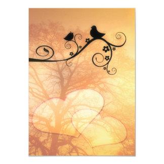 Love Birds Personalized Invitations