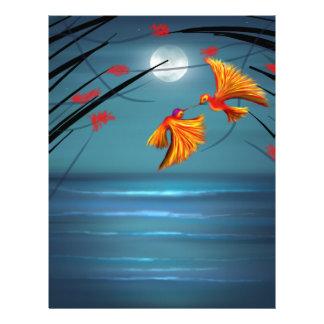 Love Birds Letterhead Design