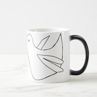 Love birds magic mug
