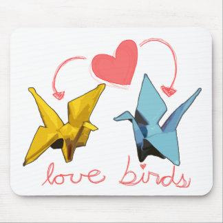love birds mousepad