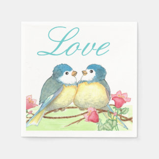 Love Birds Napkins