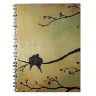 Love birds note book