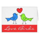 Love Birds Note Card