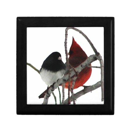 Love Birds Odd Couple Jewelry Boxes