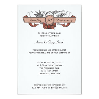 Love Birds Personalized Announcements