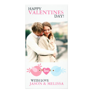 Love Birds Photo Valentine's Day Card