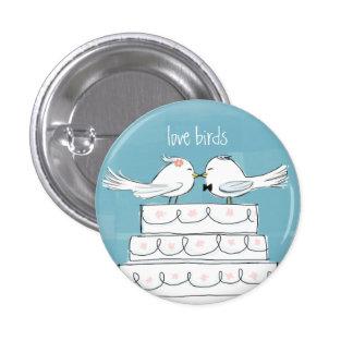 Love Birds Pinback Button