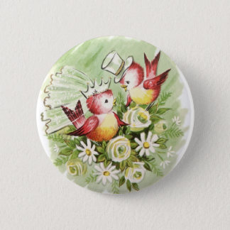Love Birds Pinback Button