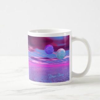 Love Birds - Pink and Purple Passion Coffee Mug