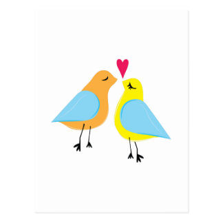 Love Birds Postcards