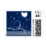 Love Birds Save the Date Postage