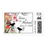 Love Birds Save the Date Stamp