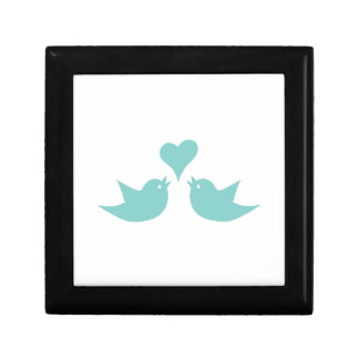 Love Birds Singing from the Heart Keepsake Box