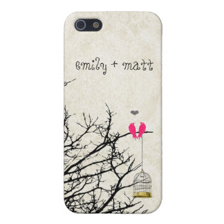 Love Birds Sitting in a Tree iPhone 5C Cover