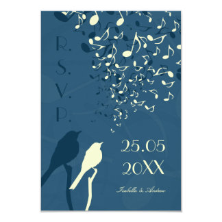 Love Birds Song - RSVP 3.5x5 Paper Invitation Card
