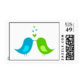 Love Birds stamp