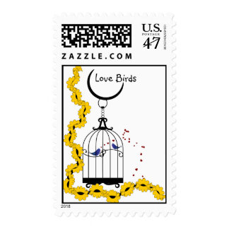 Love Birds Stamps