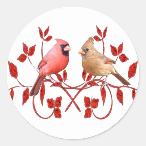 Love Birds Sticker
