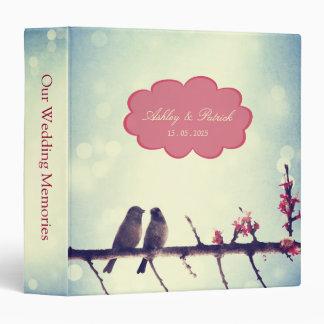 Love Birds Story 2 wedding photo album Binder