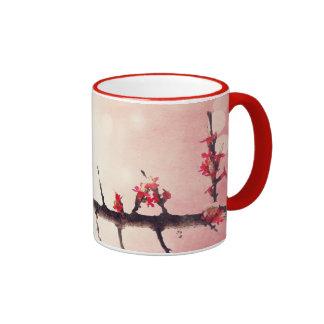 Love birds story ringer coffee mug