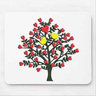 Love Birds Theme Mouse Pad