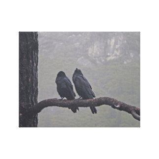 Love Birds Together Canvas Print